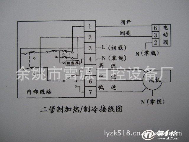 由逻辑电路对其测量的温度与设定温度