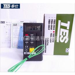 台湾泰仕TES-1310接触式温度表热电偶测温仪表面温度计
