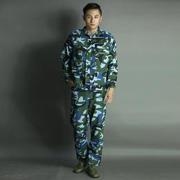 秋冬纯棉工作服防寒迷彩服劳保服套装长袖男式工装外套可定做缩略图