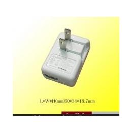 厂家供应USB Charger <em>5V1A</em> 5W USB<em>手机充电器</em>UL美规PSE日规充电器
