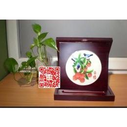 折盒收纳刺绣画个性化定制
