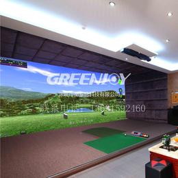 长沙Greenjoy衡泰信城市室内高尔夫模拟器系统Q7