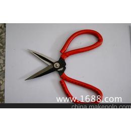 益多利小槽工业剪刀 民用 园林剪刀 红柄剪刀批发 皮革剪刀