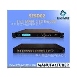 5ESD02 5<em>合</em><em>1</em> MPEG-<em>2</em> SD编码器