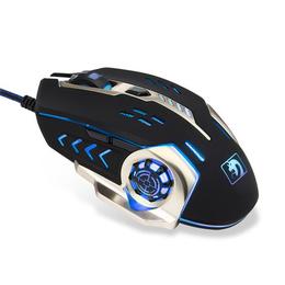 新盟机械蛇有线鼠标游戏电竞电脑USB鼠标加重宏编程