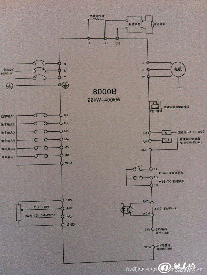 电力集成器件 变频器 厂家现货供应直销小功率三晶牌变频器  型号jte