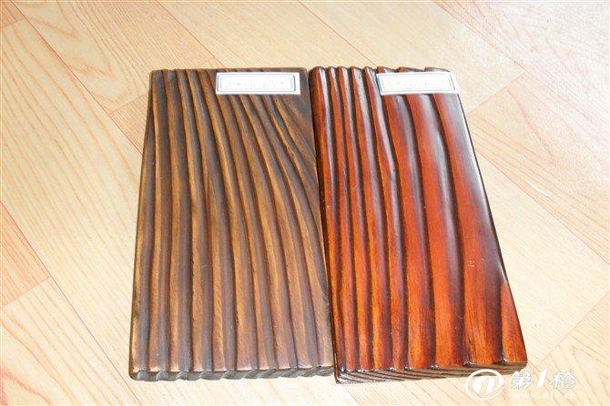 厂家直销刻纹木 炭化木 仿古木材