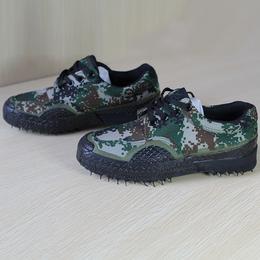 新款男式帆布军鞋户外迷彩解放鞋