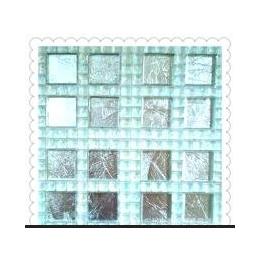 <em>水晶玻璃</em><em>马赛克</em> 幻彩水晶+<em>金箔</em> 背景墙 卫生间 厨房吧台