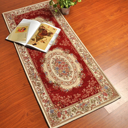 新品长款地垫 特价促销 欧式田园风格 地毯 卧室床边走廊垫