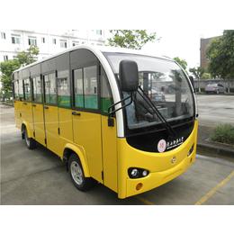 黄色电动观光车_绿色电动观光车_白色电动观光车