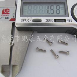 鹏派厂家直销  304HC不锈钢圆柱头内六角螺丝 杯头小螺钉