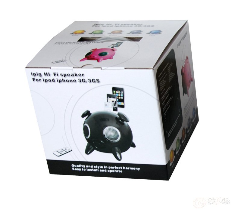iphone熊猫音箱,数码音响