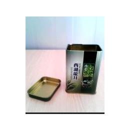 铁罐 龙井茶叶罐 马口铁茶叶罐 金属方形茶叶罐 马口铁金属方形罐