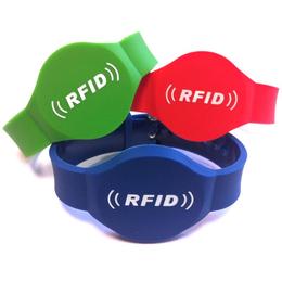 专业封装RFID手环 芯片手带感应手表 硅胶手腕带订做