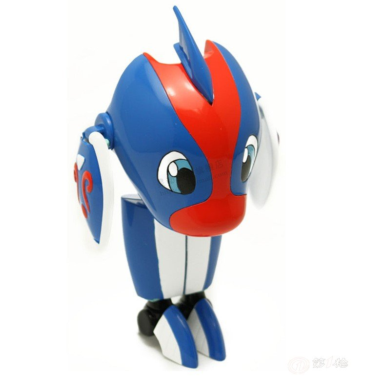 灵动创想六一儿童礼物快乐酷宝儿童玩具可爱变形海豚酷宝7506变形