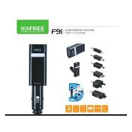 瑞谱<em>车载</em><em>手机充电器</em> USB<em>手机充电器</em>F91