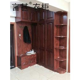 言甚 定制家具 美式衣柜 欧式风格衣柜