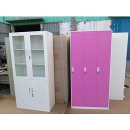定制钢制彩色员工更衣柜 铁皮柜 文件柜