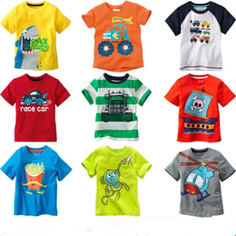 宜城厂家批发夏季童装T恤衫儿童优质服装关爱小孩健康成长好衣服