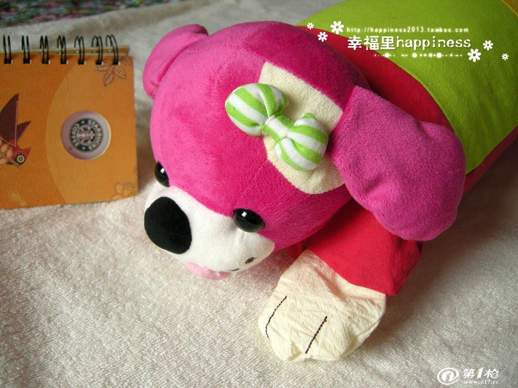 出口韩国儿童枕套枕头可爱小狗卡通造型外贸批发限量版正品爆款抢