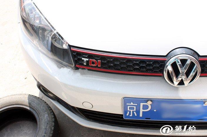 大众高尔夫丰田 tdi 字母组合车贴车标 装饰3d立体车贴