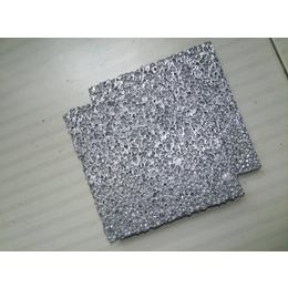 厂家供应过滤材料发泡铝板