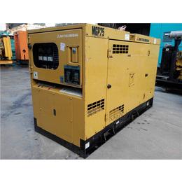 进口三菱静音型16kw二手柴油发电机组小功率出售