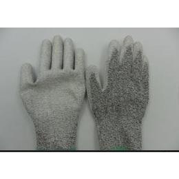 迪尼玛PU涂层手套 HHPE耐磨防割手套 防撕裂手套