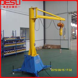 热销精品250kg移动式悬臂吊KBK旋臂吊手动悬臂式起重机