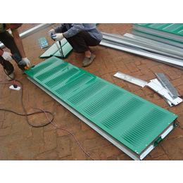 供应厂家直销2016低价销售小区百叶孔喷塑声屏障