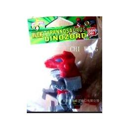 恐龙战队之霸王龙-暴龙库存玩具-出口限量库存