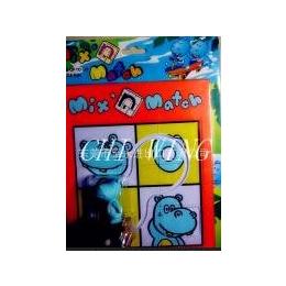 卡通玩具轨道车-卡通拼图-卡通玩具小车
