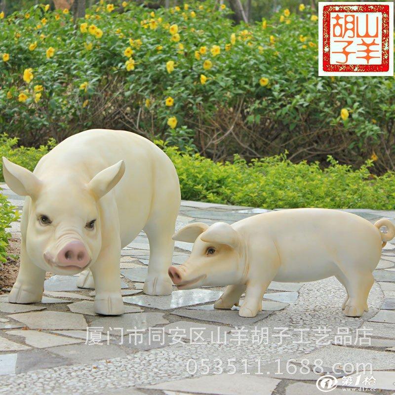 130厘米写实野生动物别墅花园动物园装饰品鳄鱼树脂工艺品辟邪