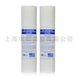 大量供应10寸压纹PP棉滤芯净水器过滤芯