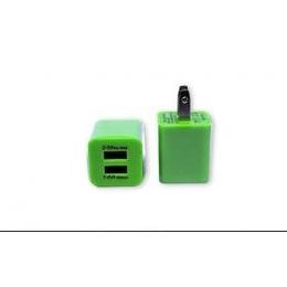 伙拼 直充充电头手机原装适配器USB双输出直充充电器 工厂批发
