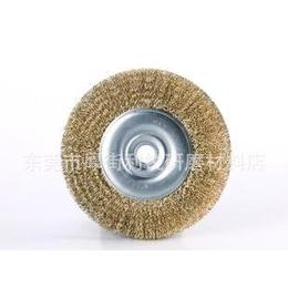 6寸孔平行钢丝轮 野牛牌钢丝轮 碗型钢丝轮 笔刷 磨料丝轮