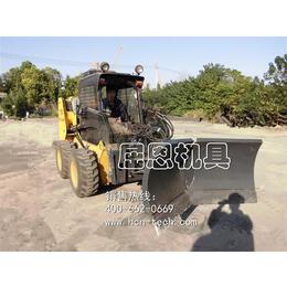 V型推雪铲 滑移装载机除雪铲 装载机推雪铲
