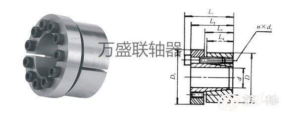 胀紧连接套的型号 z12型胀紧联轴器的结构优势