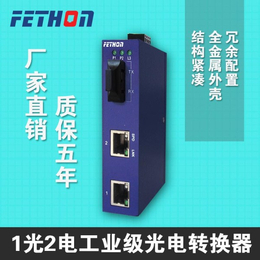 河南工业交换机飞崧通讯ESD1031光2电工业交换机