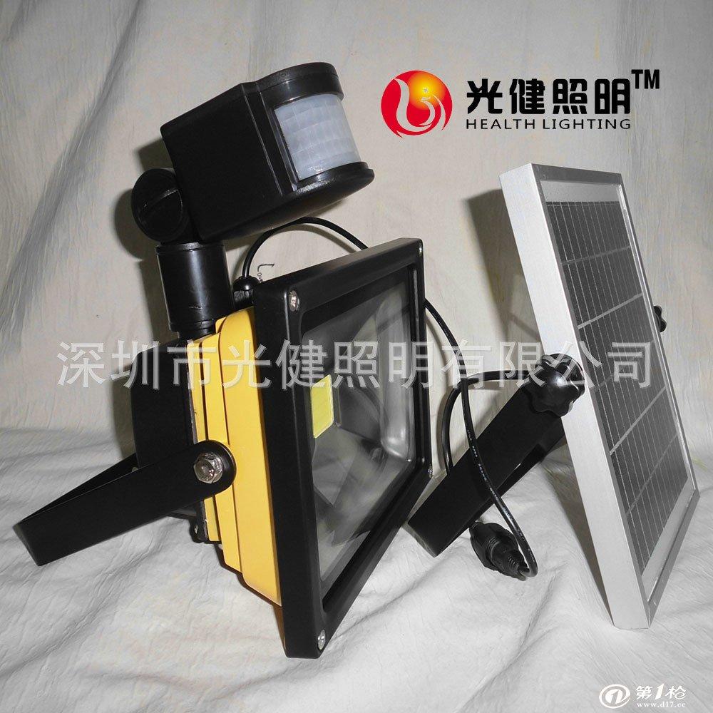 多晶硅18v3w 电池:4节 4400mah锂电池 太阳能板与灯具防水连接线3米