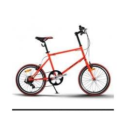 贝斯卡20寸变速自行车赛车迷你小轮车休闲单车男女式学生款