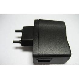 批发<em>出售</em>优质欧规A288<em>手机充电器</em>外壳(黑色)USB口带指示灯孔