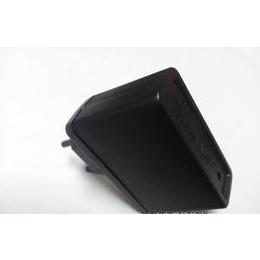 批发<em>出售</em>优质欧规<em>手机充电器</em>外壳(黑色)USB接口带指示灯孔