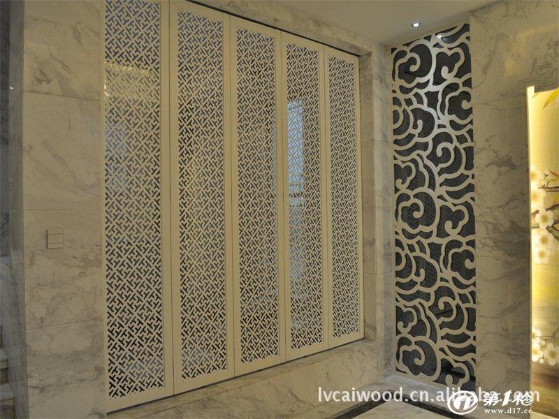 厂家定制异形饰面板 成品木饰面 干挂安装工艺 木制隔断 密度板