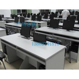 显示屏升降电脑桌、志欧(在线咨询)、多人显示屏升降电脑桌