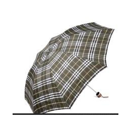 宝丽姿正品专卖三折叠 色织格布伞 超大防风雨伞