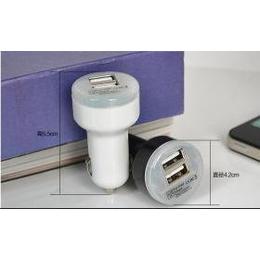 USB车载充电器 <em>手机充电器</em> 汽车充电器 2.1A双USB <em>迷你</em>小车充
