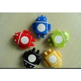 mp3 厂家直销 插卡MP3 安卓机器人MP3 低价迷你MP3批发