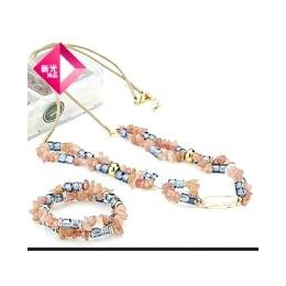 新光饰品 DIY系列 水晶魔盒之清溪の雨花石 水晶套装 项链 手缩略图